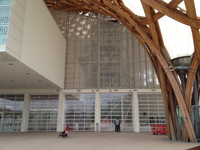 Entrée du Centre Pompidou Metz