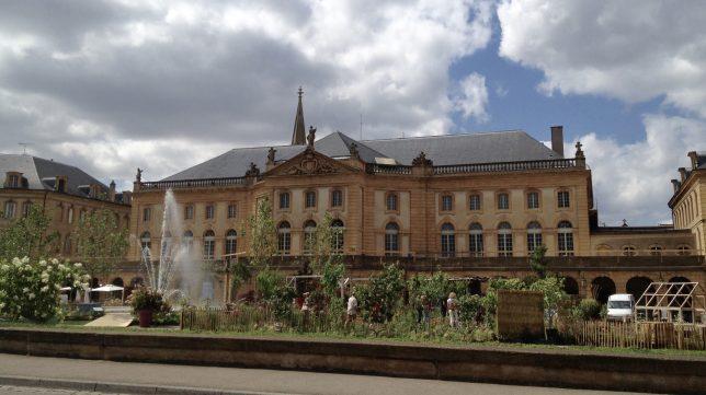 Place de la Comédie, Metz : vue sur l'opéra théâtre