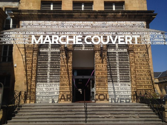 Marché couvert, Metz