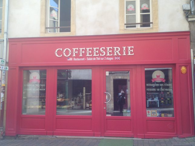 Coffeeserie, rue de la Tête d'Or, Metz