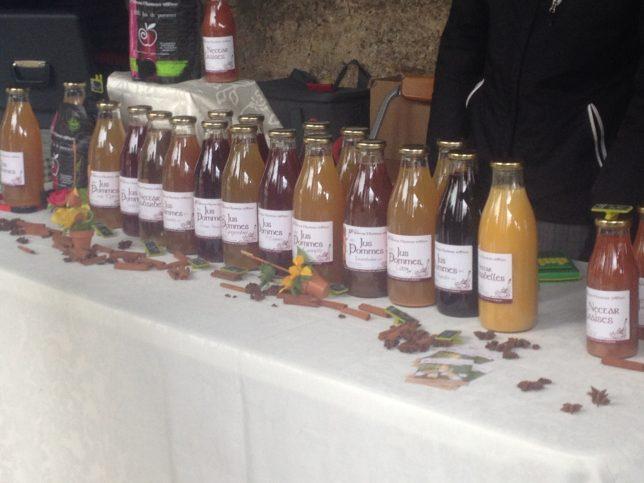 Les jus de fruits et nectars Saveurs fruitières d'antan