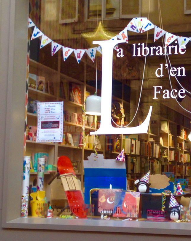 La Librairie d'en face, rue Ambroise Thomas à Metz