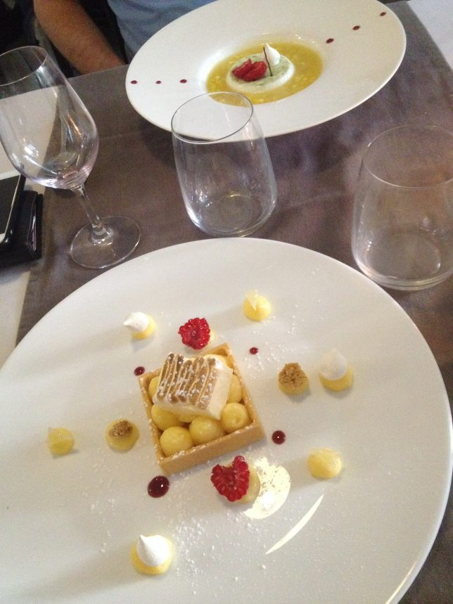 Desserts de la carte été 2016 du Jardin des Chefs à Metz : le citron star !