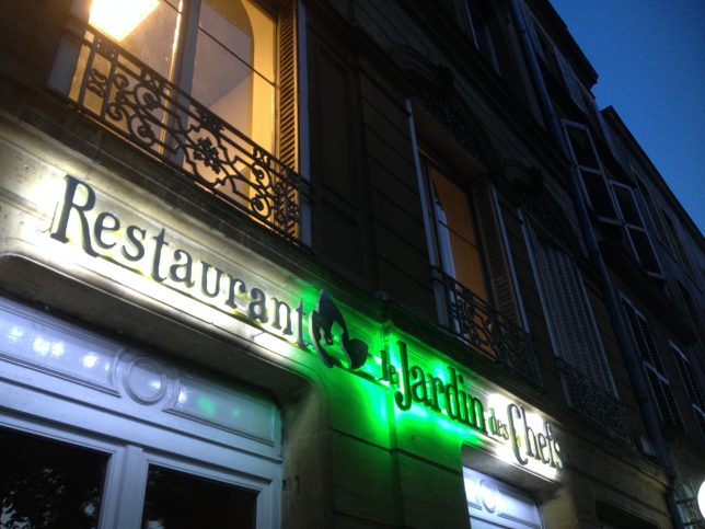Restaurant Le Jardin des Chefs, Metz