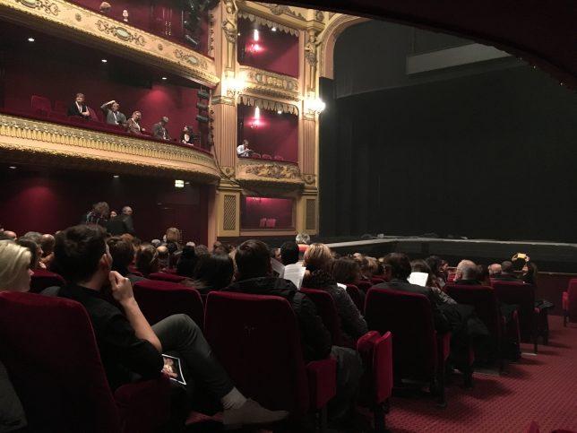 Salle de l'opéra théâtre de Metz