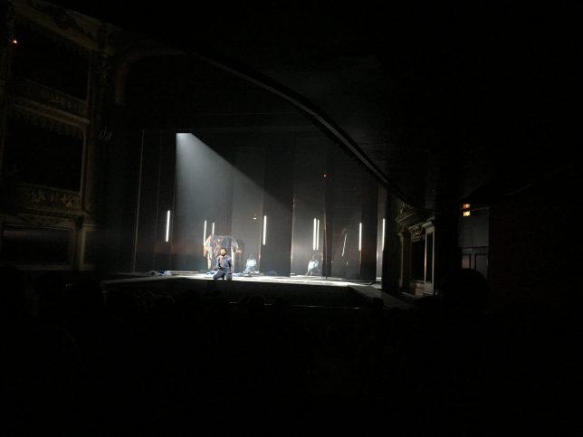 Hugo Becker dans La Nuit juste avant les forêts, Metz, novembre 2016
