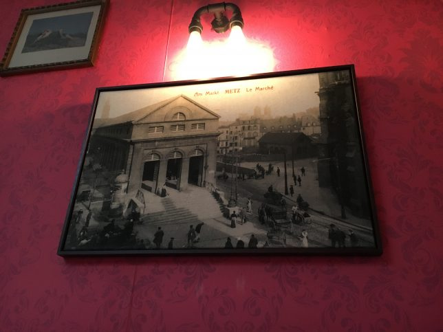 Photo ancienne du Marché couvert de Metz - chez Mamie m'a dit, Metz