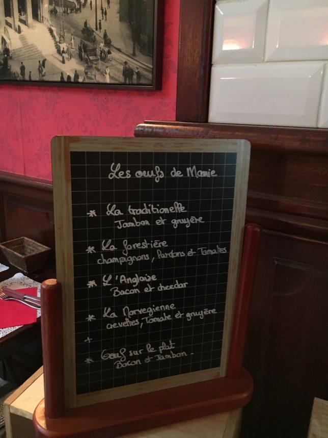 Carte des oeufs - Mamie m'a dit, Metz