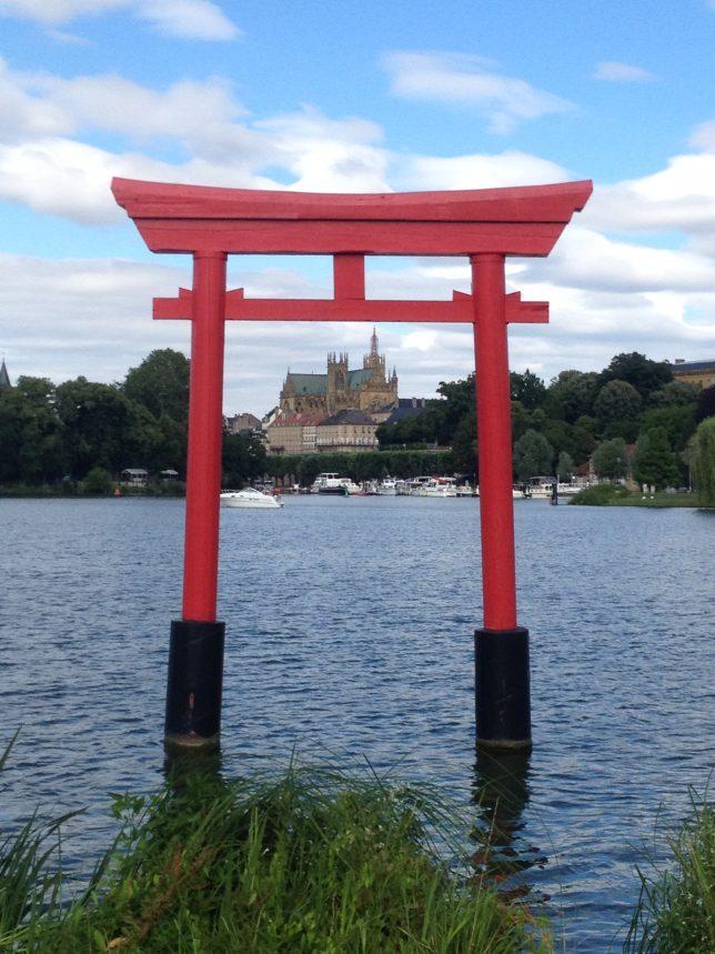 Vues du Plan d'eau, Metz