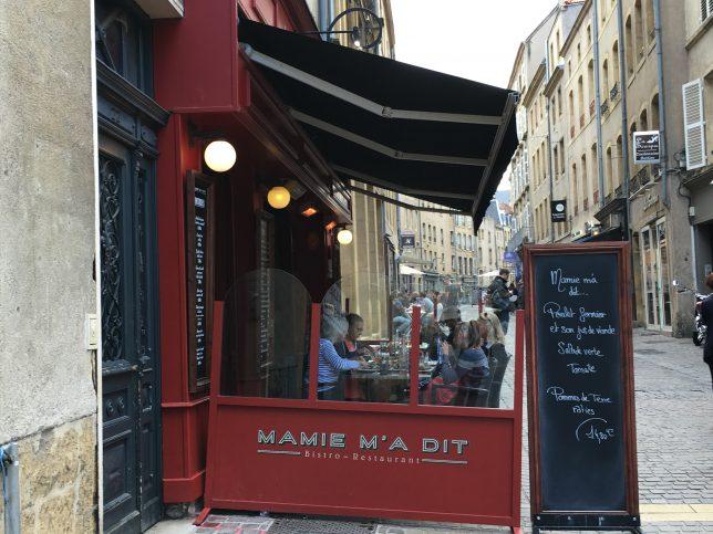 Restaurant Mamie m'a dit, MEtz