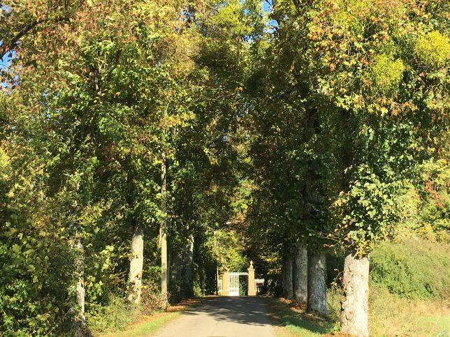 Entrée du domaine du château de Preisch