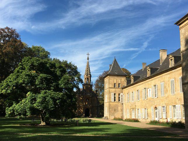 Château de Preisch et sa chapelle