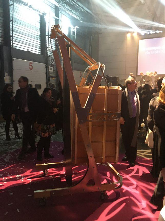 Le Veme, instrument de musique créé à Metz