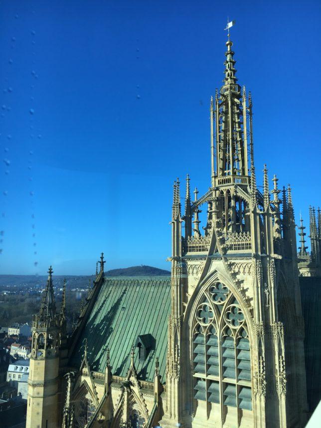 Metz vue depuis la grande roue de Noël - adoptemetz