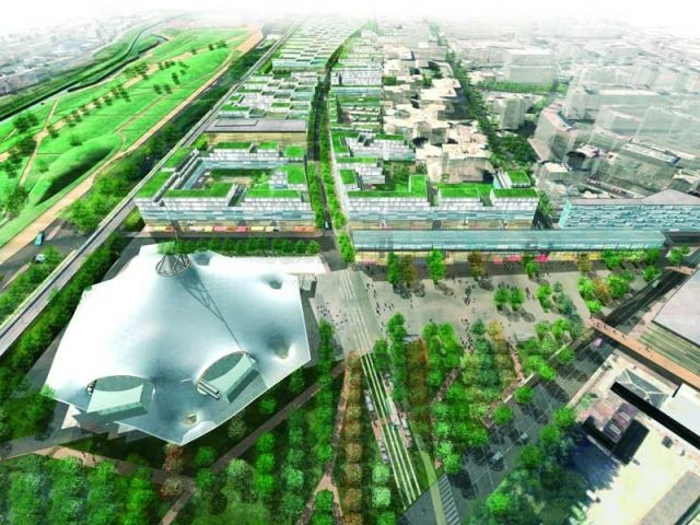 vue-aérienne-projet-quartier-amphithéâtre-metz